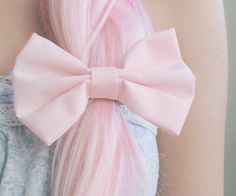 pink..love the bow too