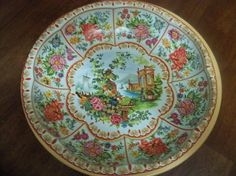 daher decorated ware tin made in england fancy by OldComfortShop  $15.00