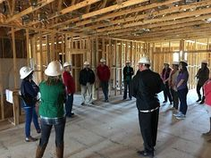 Ivey team getting a tour of the new Ivey Headquarters...coming soon!! #growing #iveyhomes Ivey Homes is a local Augusta GA home builder. Homes from the Low $100's to custom.