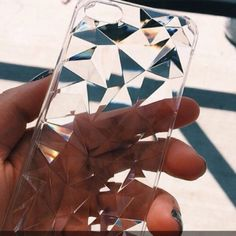 Jewels: iphone case clear iphone case phone cover grunge transparent holographic iphone see through