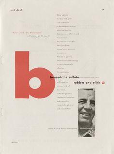1946 ad for Benzedrine