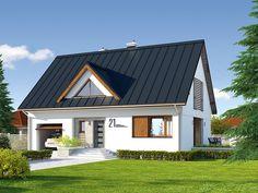 Projekt Calineczka 3 (139,03 m2). Pełna prezentacja projektu dostępna jest na stronie: www.domywstylu.pl.... #calineczka #projekty #projekt #gotowe #typowe #domy #domywstylu #mtmstyl #home #houses #architektura #interiors #insides #wnętrza #aranżacje