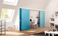 Skrådører Arkiver - Skapnett Brown Interior Doors, Wood Front Doors, Real Wood, Lockers, Locker Storage, Cabinet, Dining, Furniture, Home Decor