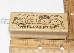 THEY ARE PRECIOUS IN HIS SIGHT BY EMBOSSING ARTS RUBBER STAMP #EMBOSSINGARTS #rubberstamp
