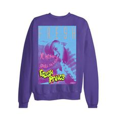 90s tv 80s music Fresh Prince tshirt vintage spike lee jordan grape 5 hipster sweater sweatshirt nba bulls men retro xmas space jam smell found on Polyvore