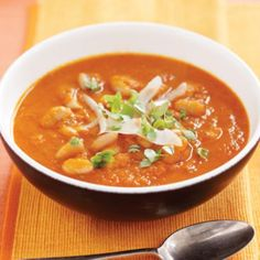Minestrone soup | Australian Healthy Food Guide Healthy Soup Recipes, Healthy Food, Kate Marsh, Pcos, Thai Red Curry, Sugar Free, Soups, Clean Eating, Vegan