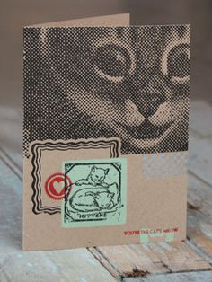 KITTENS - You're the cat's meow! From The Firecracker Press. Letterpress printed with love.