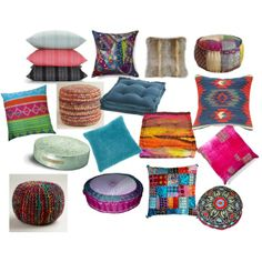 """""""zen room pillows"""" by rainbow32539 on Polyvore"""
