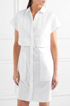rag & bone - Ara Cotton-poplin Shirt Dress - White - medium
