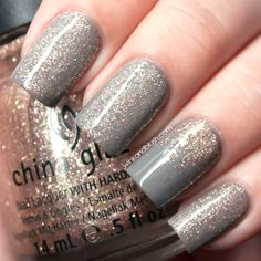 China Glaze Champagne Kisses Nail Lacquer Review & Swatches—Holiday Joy Collection, Holiday 2012