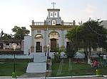 Iglesia y plaza de Alto de Escuque. Trujillo.