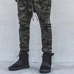 e0b64927236 Thin Camouflage Slim Fit Joggers Military Camo Drop Crotch Track Pants Free  Shipping-in Skinny Pants from Men s Clothing   Accessories on  Aliexpress.com ...