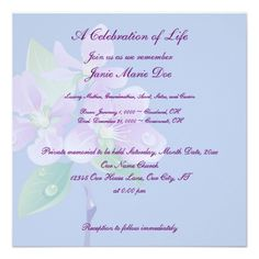 Memorial Service Invitation Wording The Holidays Change As We Grow Older But They Still Remain A .