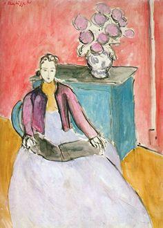 Mujer leyendo - Matisse #art #painting