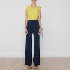Pantalon Carina Azul Noche SS17