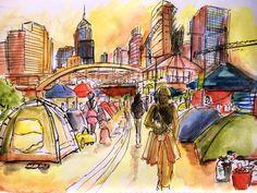 By Artist Hum Wong