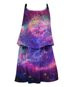 Fireworks Sublimated Dress - Kids #zulily #zulilyfinds