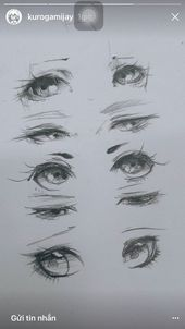 Drawing techniques, eye sketch, realistic eye drawing, anatomy drawing, m. Anime Drawings Sketches, Pencil Art Drawings, Eye Drawings, Pencil Sketching, Anime Sketch, Sketches Of Eyes, Eye Drawing Tutorials, Drawing Techniques, Painting Tutorials