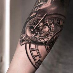 169 Meilleures Images Du Tableau Tatouages Horloge En 2019 Tattoo