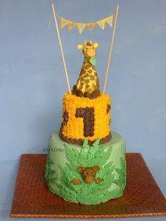 Parkers 1st Birthday Cake!