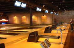 Brooklyn Bowl at the LINQ Las Vegas. Drink, bowl, dance, sing and then do it all over again