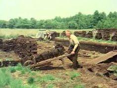 Turfwinning en natuur in de Peel in 1976