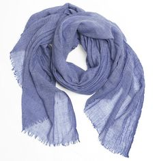 One can never have too many scarves. From Everlane