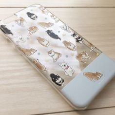 【iPhone】しば犬透明スマホケース