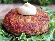 Spicy Salmon Burger with Jalapeno Mayonnaise