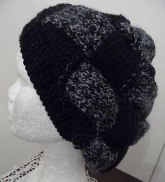 RESERVE Bonnet tricoté main - CRICRI - point d'entrelacs : Chapeau, bonnet par misty-tuss-tricote