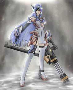 Kosmos...from Xenosaga..one of my favorite gaming characters..