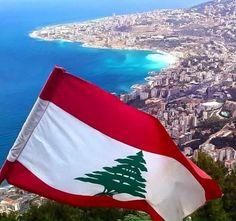 awesome view of beirut with the lebanon flag waving proud! photo by tony el saneh Lebanon Culture, Beirut Explosion, Ramadan Poster, Canada Pictures, Beirut Lebanon, Thinking Day, Wallpaper Iphone Cute, Heaven On Earth, S Pic