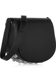 Black leather (Calf) Magnetic-fastening front flap Weighs approximately 1.8lbs/ 0.8kg Imported