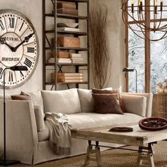 Steampunk Living Room Design Ideas