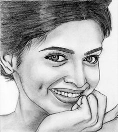Deepika Padukone Abstract Pencil Drawings, Pencil Sketch Drawing, Eye Sketch, Pencil Shading, Pencil Art, Fine Art Drawing, Ganesha Art, Pencil Portrait, Art Sketchbook