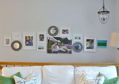 gallery wall by burlap+blue
