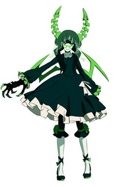 Black Rock Shooter -- Dead Master Cosplay Costume Version 03
