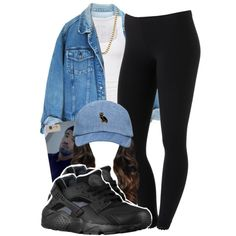 they always updating something by lovebrii-xo on Polyvore featuring polyvore fashion style American Eagle Outfitters ASOS NIKE