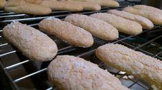 Everything's better with cake: Savoiardi for tiramisu (gluten free)