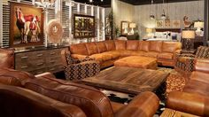 Treat yourself to the best of the best! This sectional was crafted in America using superior materials, like 100% top-grain leather, by artisans with incredible skill, making it the best and most beautiful option for your space! | Houston TX | Gallery Furniture |