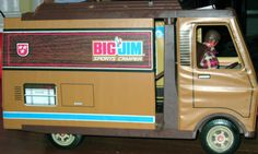 Big Jim Vintage Toy Truck