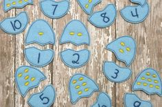 Felt Number Matching Game by BlueUmbrellaDesigns on Etsy