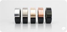 From left to right: Aluminium, Titanium, Brass, Copper, Black