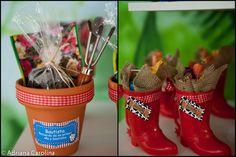 Kara's Party Ideas Chocolate Farm 1st Birthday Party | Kara's Party Ideas