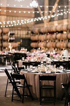 winery reception - wine themed wedding ideas