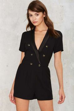 No Such Tux Romper |