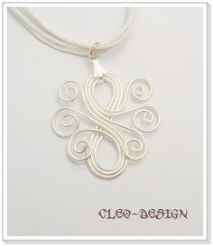 Cleo wire jewelry design – but would be awesome as a tattoo too