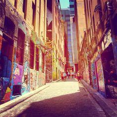 {In Pursuit of Pulchritude} Melbourne's Best Street Art: Part 2