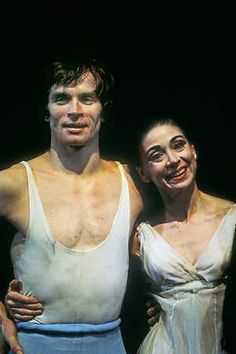 Rudolf Nureyev and Margot Fonteyn - I saw them dance, together and separately, many times when I lived in London