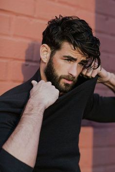 Hair Styles For Men style black hair with hair gel, medium long hair, modern mens hairstyles Hipster Hairstyles, Boy Hairstyles, Mens Thick Hairstyles, Men Hairstyle Thick Hair, Thick Hair Men, Wavy Hair Men, Black Curly Hair, Short Curly Hair, Guys With Curly Hair